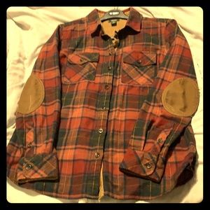 Roots plaid shirt
